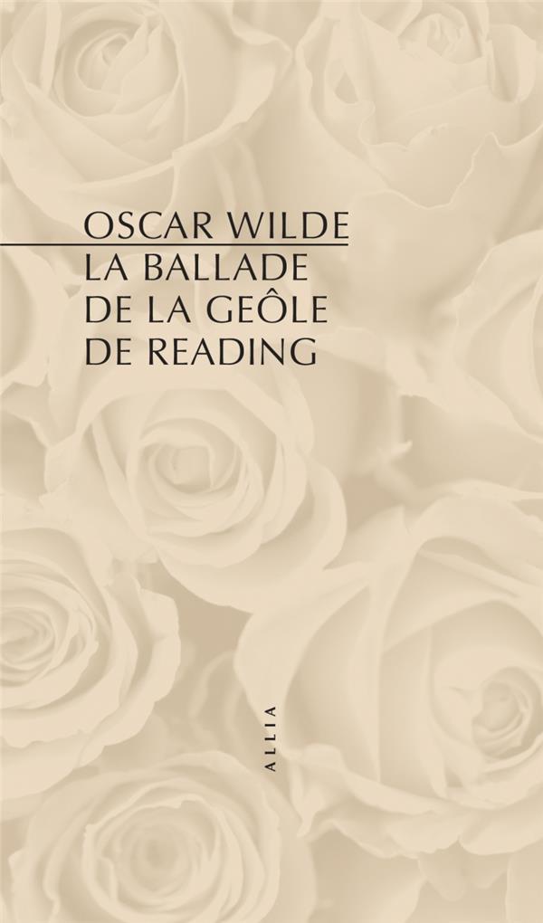 LA BALLADE DE LA GEOLE DE READING