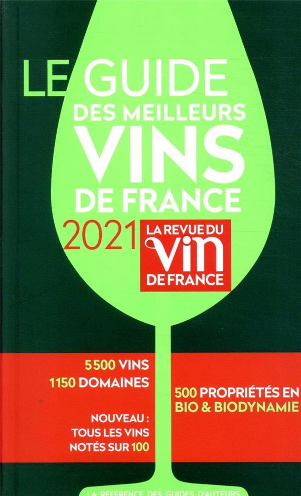 LE GUIDE DES MEILLEURS VINS DE FRANCE (EDITION 2021) POUSSIER/CITERNE MARIE-CLAIRE