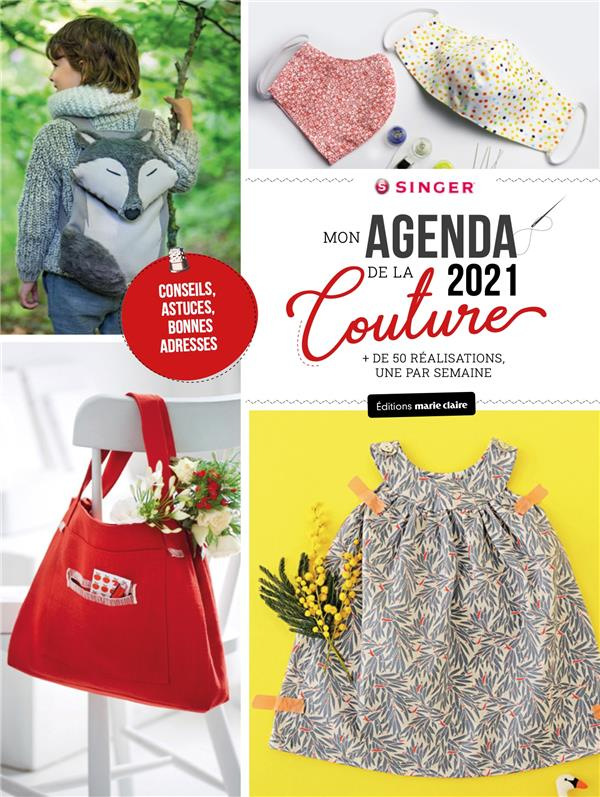 AGENDA COUTURE (SINGER) (EDITION 2021) COLLECTIF MARIE-CLAIRE