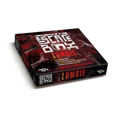 ESCAPE BOX ZOMBIE Dorne Frédéric Editions 404