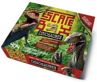 ESCAPE BOX DINOSAURES  Lgdj