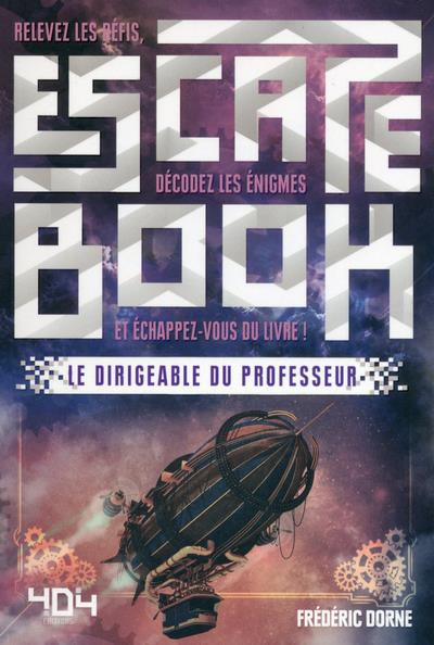 ESCAPE BOOK STEAMPUNK - LE DIRIGEABLE DU PROFESSEUR  404