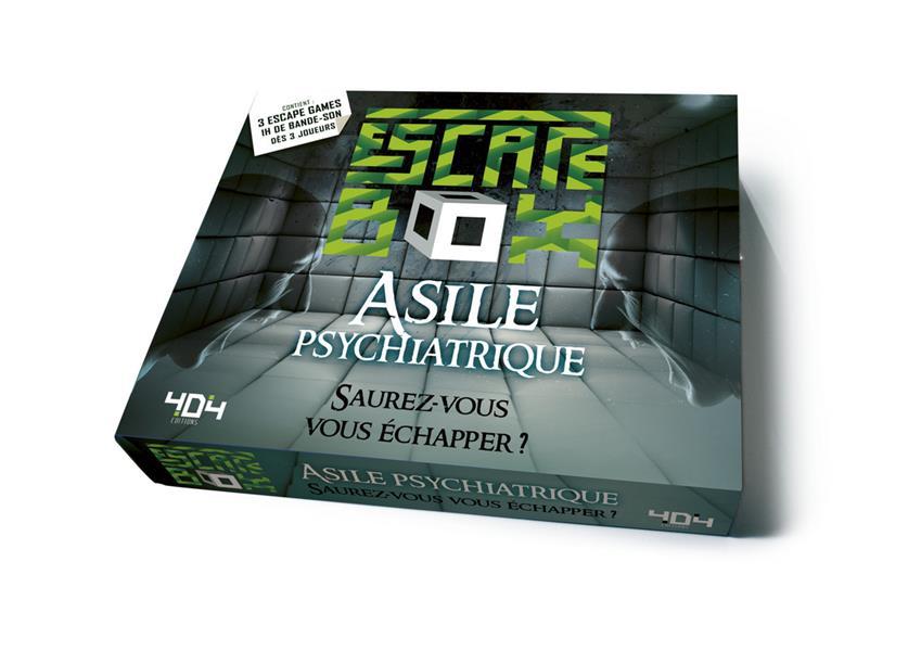 ESCAPE BOX  -  ASILE PSYCHIATRIQUE DORNE FREDERIC NC