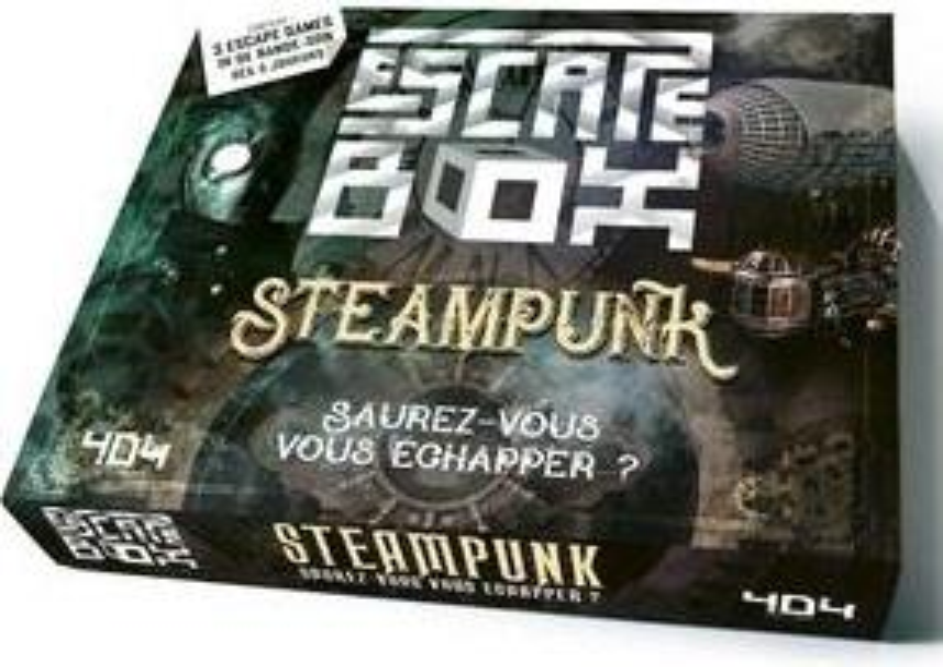 ESCAPE BOX STEAMPUNK  Lgdj