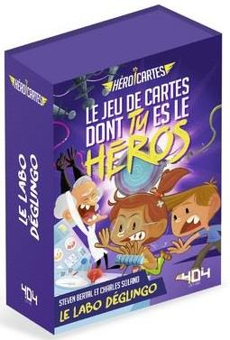 HEROI'CARTES - LE LABO DEGLINGO