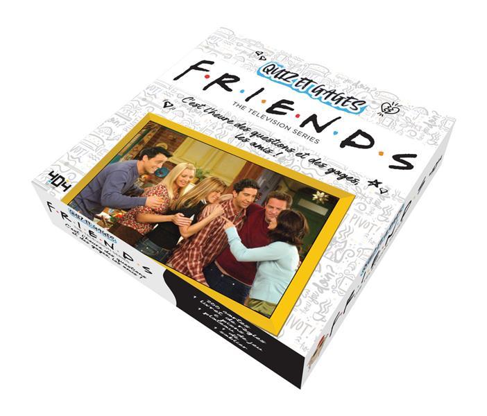 FRIENDS  -  QUIZ ET GAGES PEUVION, GREGOIRE NC