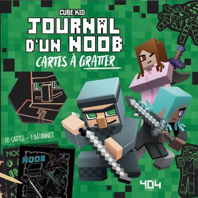 JOURNAL D'UN NOOB  -  MES CARTES A GRATTER CUBE KID NC