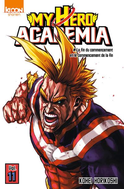 My hero academia La fin du commencement et le commencement de la fin Vol.11 Horikoshi Kohei Ki-oon