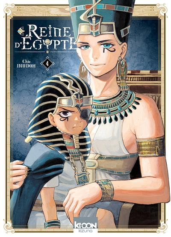 REINE D'EGYPTE T.4 INUDOH CHIE KI-OON