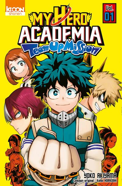 MY HERO ACADEMIA TEAM-UP MISSION T01 - VOL01 HORIKOSHI/AKIYAMA KI-OON