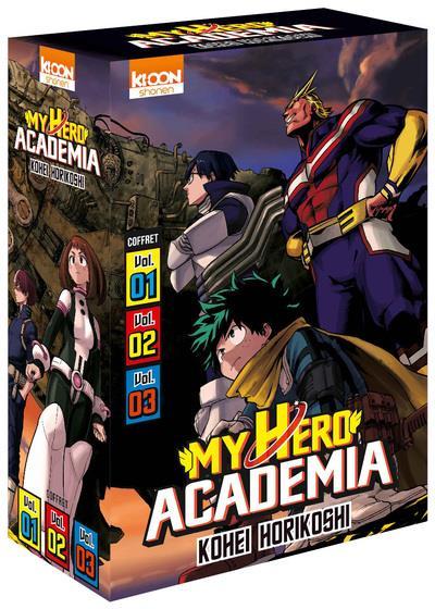 MY HERO ACADEMIA  -  INTEGRALE T.1 A T.3 HORIKOSHI KOHEI KI-OON