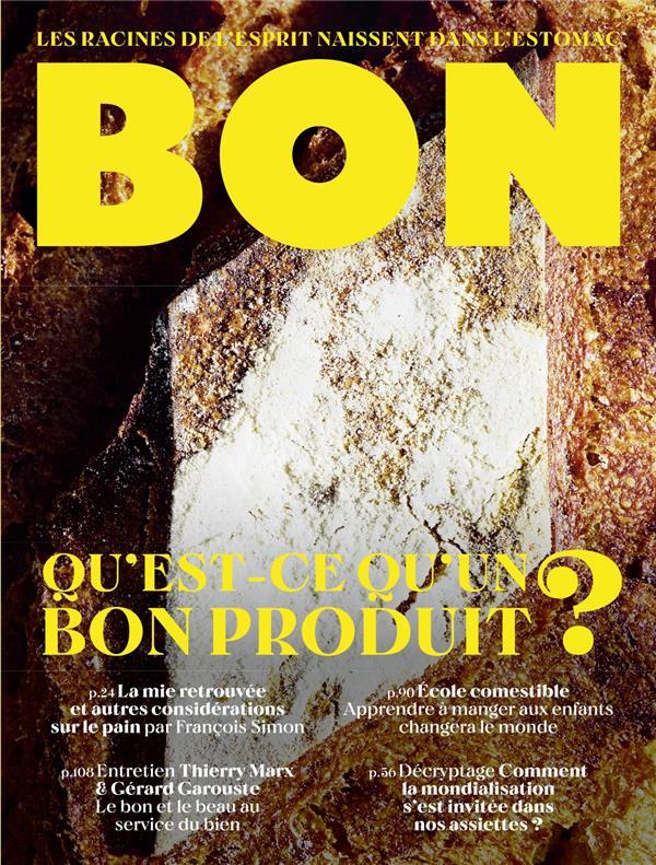 REVUE BON N.1  -  QU'EST-CE QU'UN BON PRODUIT ?