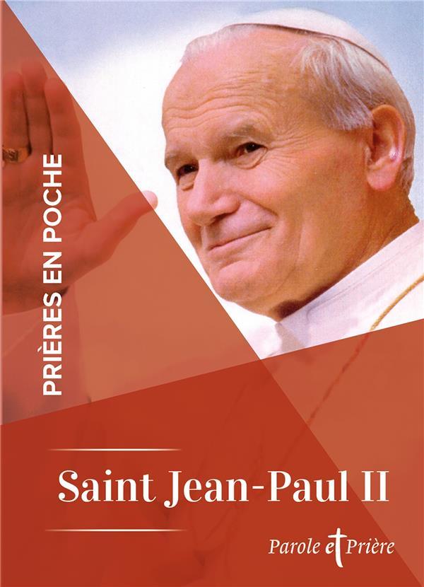 PRIERES EN POCHE  -  SAINT JEAN-PAUL II