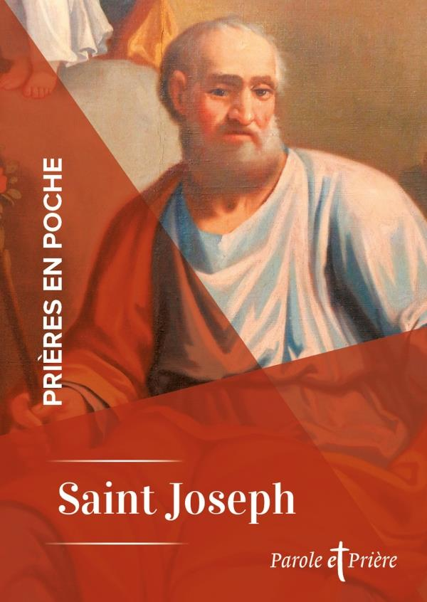 PRIERES EN POCHE  -  SAINT JOSEPH