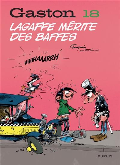 GASTON (EDITION 2018) - TOME 18 - LAGAFFE MERITE DES BAFFES FRANQUIN DUPUIS