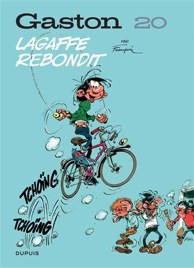 GASTON (EDITION 2018) - TOME 20 - LAGAFFE REBONDIT FRANQUIN DUPUIS