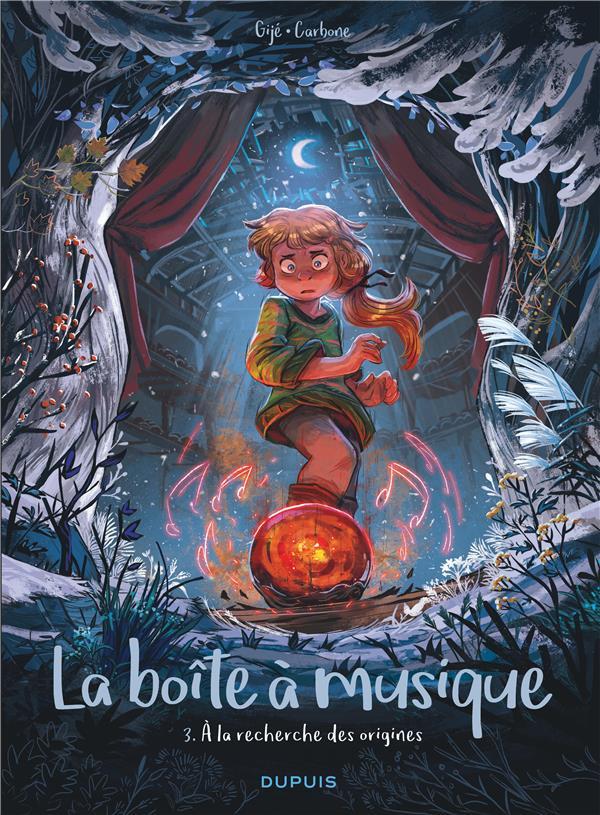 LA BOITE A MUSIQUE T.3  -  A LA RECHERCHE DES ORIGINES  DUPUIS