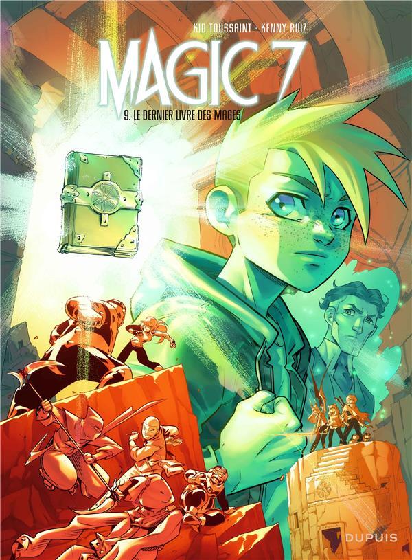 MAGIC 7 T.9     LE DERNIER LIVRE DES MAGES