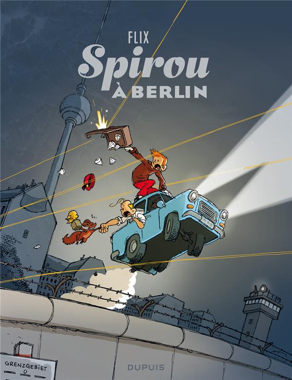 LE SPIROU DE FLIX - TOME 0 - SPIROU A BERLIN FLIX DUPUIS