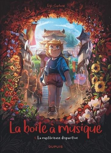 LA BOITE A MUSIQUE T.4  -  LA MYSTERIEUSE DISPARITION CARBONE/GIJE GIJE NC