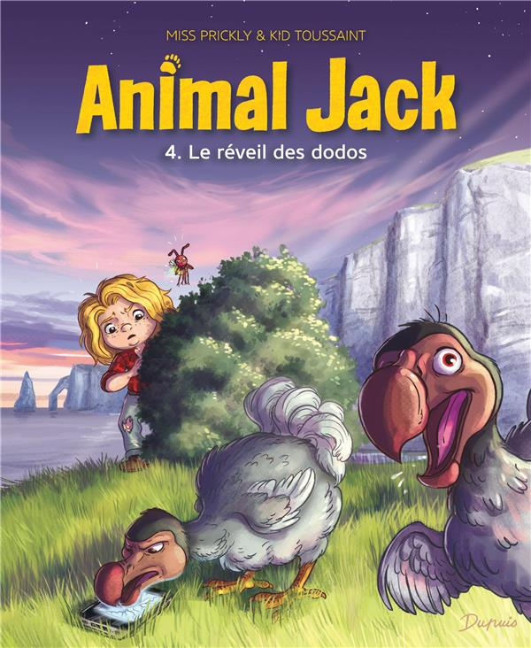 ANIMAL JACK T.4  -  LE REVEIL DES DODOS