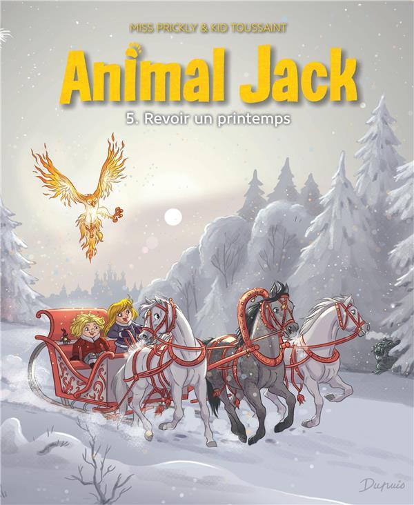 ANIMAL JACK T.5     REVOIR UN PRINTEMPS