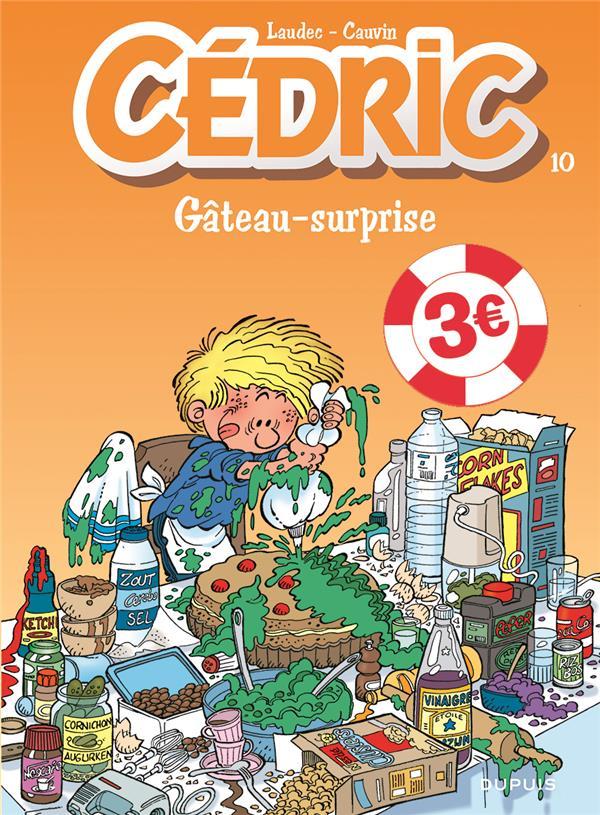 CEDRIC - TOME 10 - GATEAU-SURPRISE  EDITION SPECIALE (OPE ETE 2021)