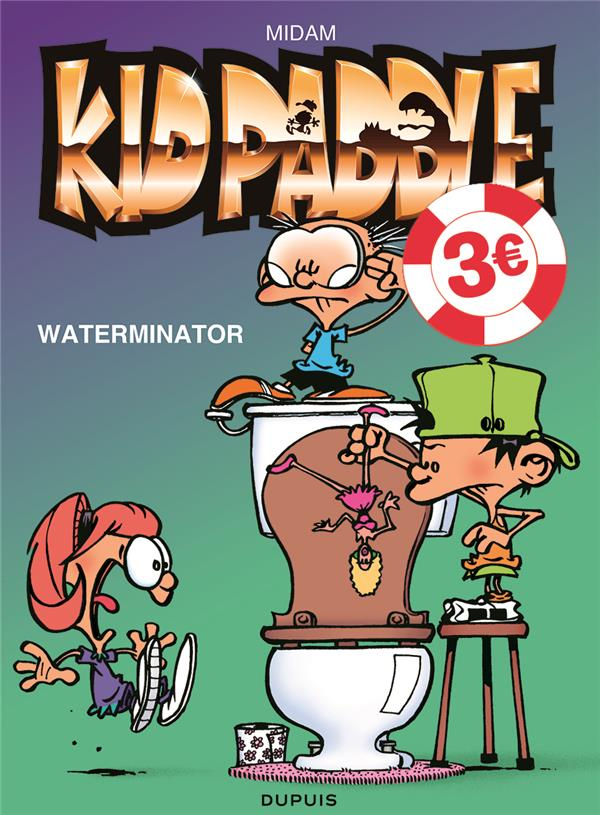 KID PADDLE - TOME 7 - WATERMINATOR  EDITION SPECIALE (OPE ETE 2021)
