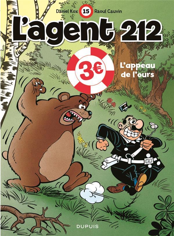 L'AGENT 212 - TOME 15 - L APPEAU DE L OURS  EDITION SPECIALE (OPE ETE 2021)