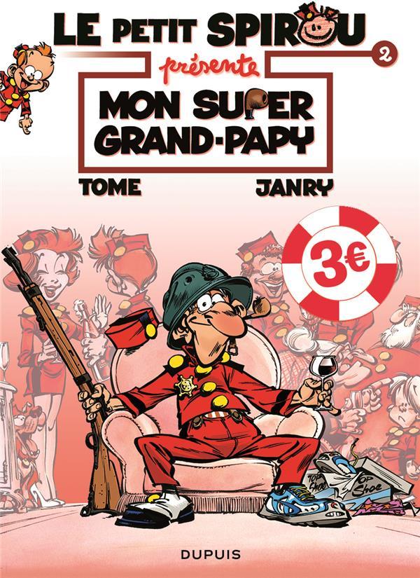 LE PETIT SPIROU PRESENTE... - TOME 2 - MON SUPER GRAND PAPY  EDITION SPECIALE (OPE ETE 2021)