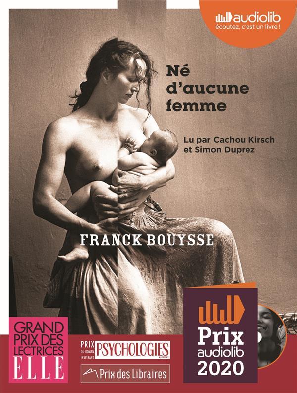 NE D'AUCUNE FEMME - LIVRE AUDIO 1 CD MP3