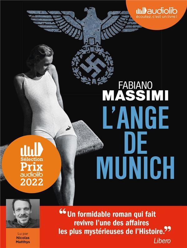 L'ANGE DE MUNICH - LIVRE AUDIO 2 CD MP3 MASSIMI FABIANO AUDIOLIB