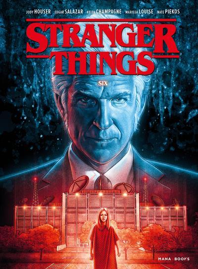 STRANGER THINGS T.2  -  SIX HOUSER/SALAZAR MANA BOOKS