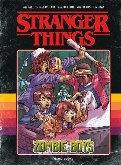 STRANGER THINGS  -  ZOMBIE BOYS PAK, GREG  MANA BOOKS