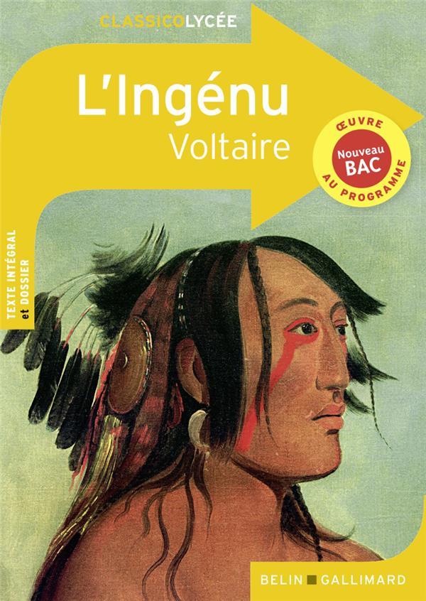 L'INGENU, DE VOLTAIRE RENNER FLORENCE BELIN