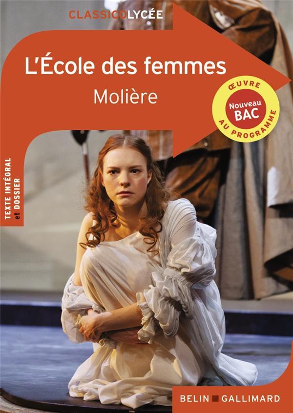 L'ECOLE DES FEMMES MOLIERE NC