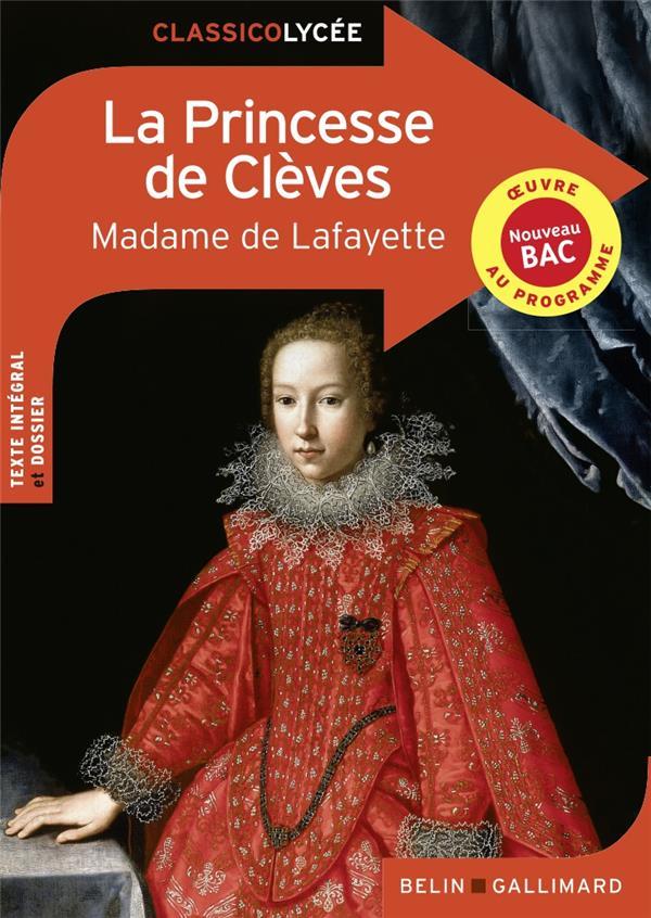 LA PRINCESSE DE CLEVES LAFAYETTE MADAME DE NC