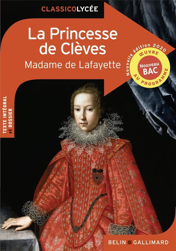 LA PRINCESSE DE CLEVES (EDITION 2020) MADAME DE LA FAYETTE NC