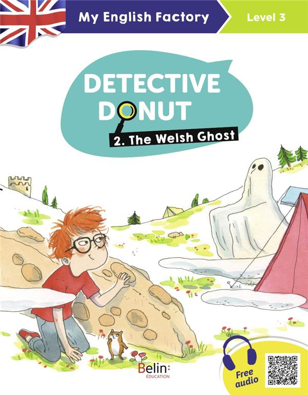 DETECTIVE DONUT T.2  -  THE WELSH GHOST (LEVEL 3)