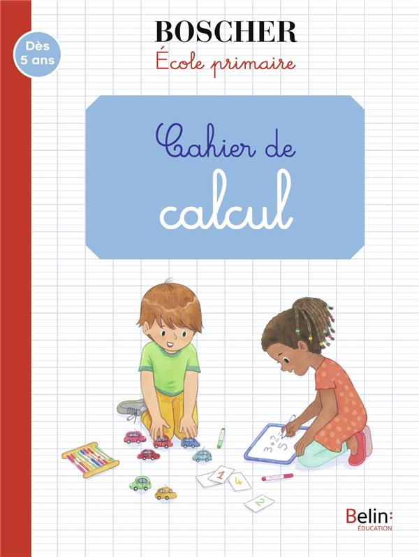 METHODE BOSCHER  -  CAHIER DE CALCUL