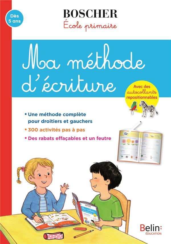 MA METHODE D'ECRITURE