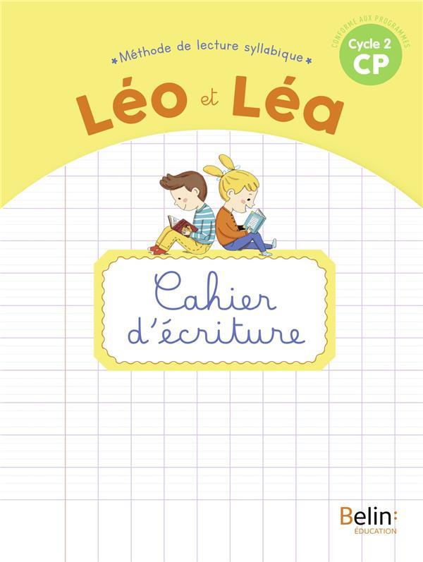 LEO ET LEA  -  CAHIER D'ECRITURE  -  CYCLE 2 CP (EDITION 2020)