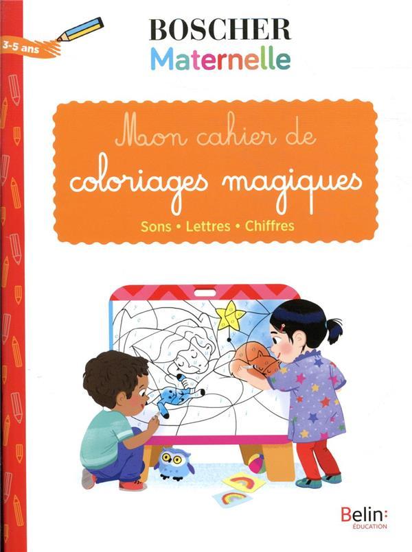 MON CAHIER DE COLORIAGES MAGIQUES
