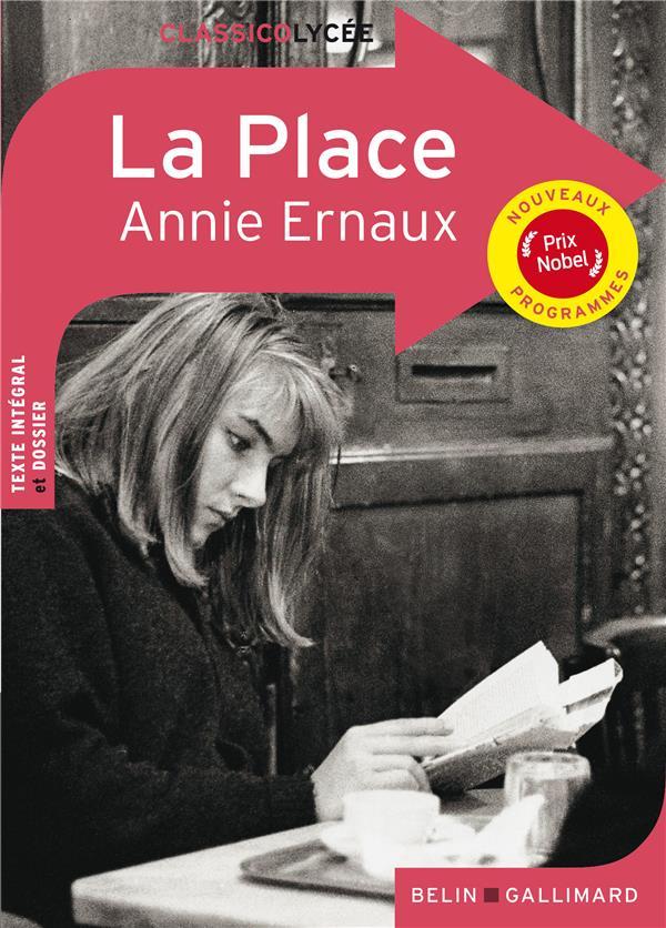 LA PLACE ERNAUX, ANNIE BELIN