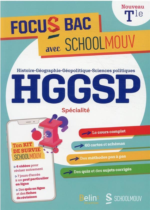 FOCUS BAC HGGSP SPECIALITE TERMINALE - DECROCHE TON BAC AVEC SCHOOLMOUV