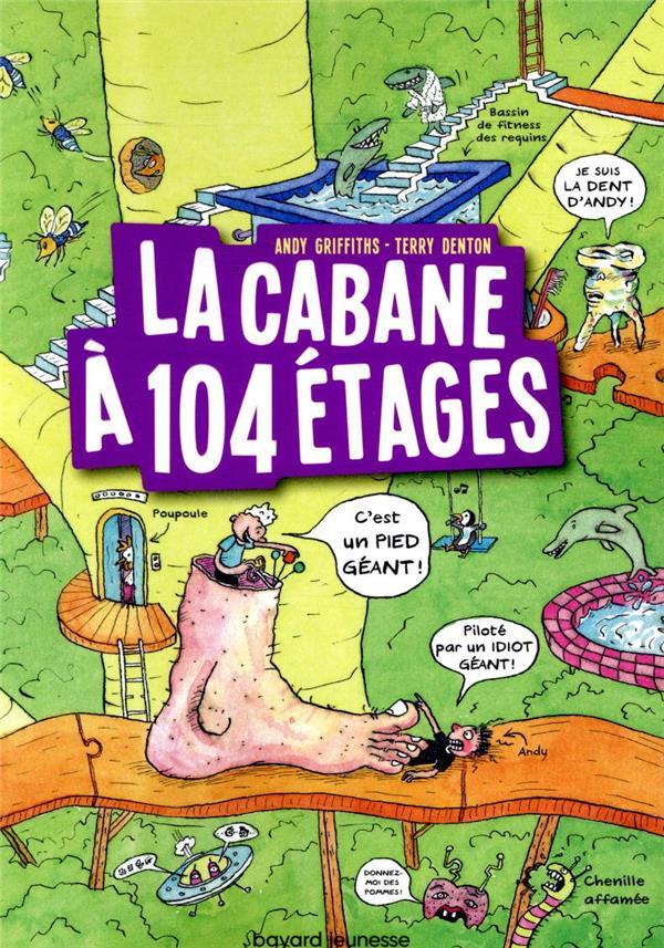 GRIFFITHS, ANDY  - LA CABANE A 13 ETAGES T.8  -  LA CABANE A 104 ETAGES