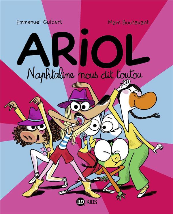 ARIOL T.16  -  NAPHTALINE NOUS DIT TOUTOU