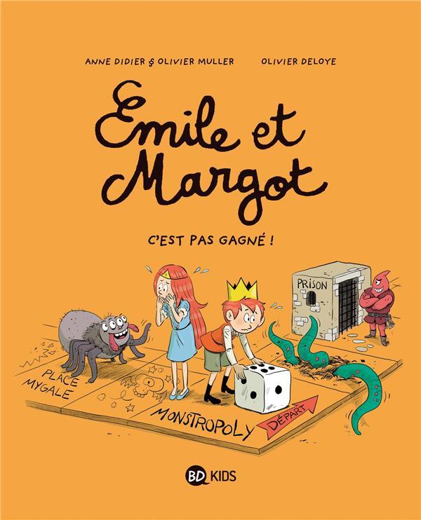 EMILE ET MARGOT T.11  -  C'EST PAS GAGNE ! DIDIER, ANNE  BAYARD JEUNESSE