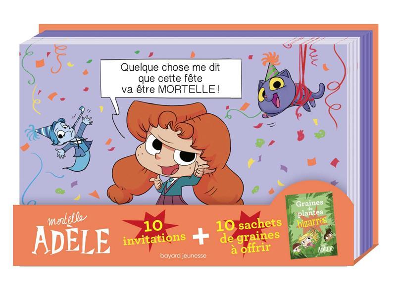 MORTELLE ADELE  -  INVITATIONS MR TAN/LE FEYER NC