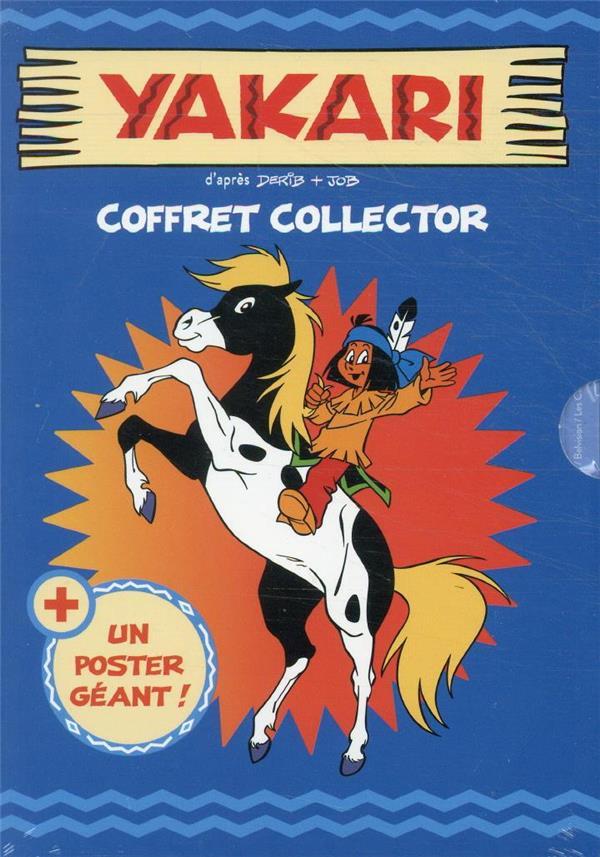 YAKARI  -  COFFRET  -  SPECIAL CHEVAUX